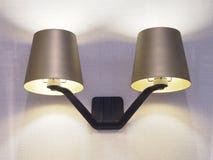 Vägglampa Fotografering för Bildbyråer