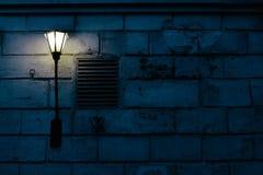 Vägglampan Arkivfoto