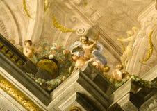 väggmålning royaltyfri bild