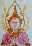 väggmålning Royaltyfria Bilder