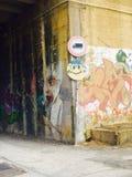 väggmålningar Arkivfoton