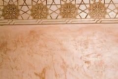 Väggmosaik i Alhambra Arkivbild