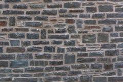 Väggstruktur av en gammal stenvägg Royaltyfri Bild