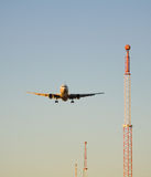 vägledd landning Royaltyfri Foto