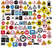 vägmärke Arkivfoto