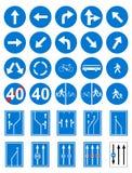 vägmärken Arkivbilder