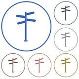 Vägmärkesymbol Royaltyfria Bilder