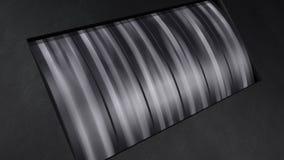 Vägmätarenedräkning från 10 till 0 stock video