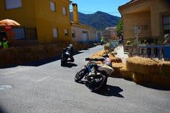 VägRacing motorcyklar Arkivbilder