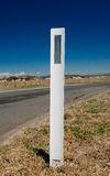 Vägreflektor, regionala Australien Arkivbilder