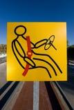 vägsignalering fotografering för bildbyråer