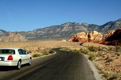 vägsommartur arkivfoto