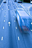 vägtrafiklastbil Arkivfoto