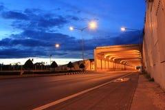 vägtunnel Royaltyfria Foton