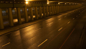 vägtunnel Arkivfoton