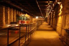 vägtunnel Arkivfoto