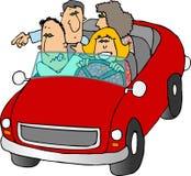 vägtur stock illustrationer