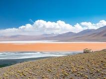 Vägtur i Anderna Arkivbild