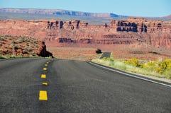 Vägtur i Arizona, USA Arkivbilder