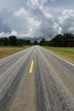 Vägtur på statlig huvudväg 10 i Alabama USA Royaltyfri Bild