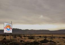 Vägtur till Arizona! arkivfoton