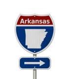 Vägtur till Arkansas Royaltyfri Foto