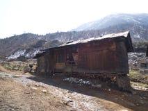 Vägtur till den Yumthang dalen, Sikkim INDIEN, 15th APRIL 2013: Y Fotografering för Bildbyråer