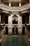 Väl i Ahmadabad, Indien Arkivfoto