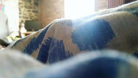 Väl till mods säng Fotografering för Bildbyråer