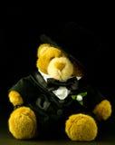 välfylld nalle för björnbrudgum Royaltyfri Foto