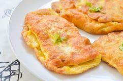 Välfylld omelett Royaltyfria Bilder