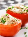 välfyllda tomater Arkivbilder