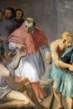 Välgörenhet av St Charles Borromeo Royaltyfri Foto