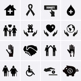 Välgörenhet och beredskapsarbete Royaltyfria Bilder