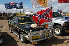 Välj upp lastbilen. royaltyfri bild