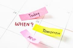 Välja den högra datumtidledningen royaltyfri fotografi