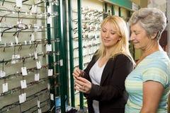 välja exponeringsglasoptiker Fotografering för Bildbyråer