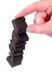 välja för choklad Royaltyfria Bilder
