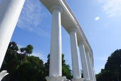 Välkommen port till Bogor på mitten av staden royaltyfria bilder