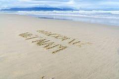 Välkommen Vietnam strand Royaltyfria Bilder