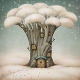 välkommen vinter stock illustrationer