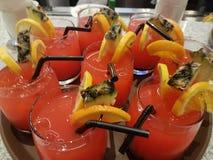 Välkommna drinkar Royaltyfria Foton
