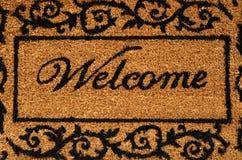 Välkomna Mat Background royaltyfri fotografi