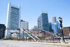 Välkomnande till Boston Royaltyfria Foton