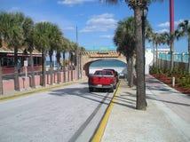 Välkomnande till Daytona Beach Fotografering för Bildbyråer