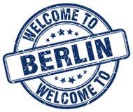 Välkomnande till den Berlin stämpeln vektor illustrationer