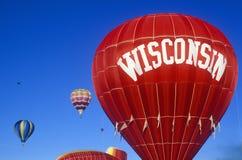 Välkomnande till det Wisconsin tecknet royaltyfria foton