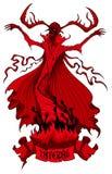 Välkomnande till helvetet Royaltyfria Bilder