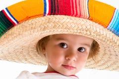 Välkomnande till Mexico Royaltyfria Bilder