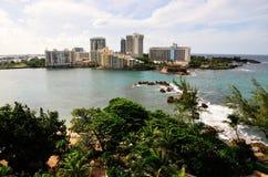 Välkomnande till Puerto Rico Arkivbilder